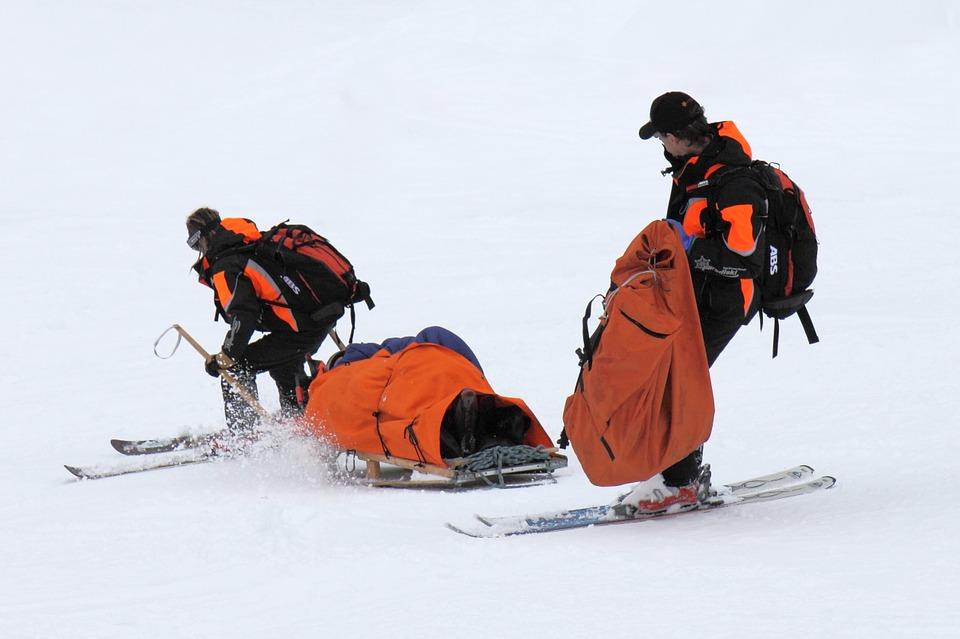 rescate esqui